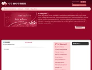 ezyczeniawalentynkowe.pl screenshot