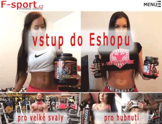 f-sport.cz screenshot