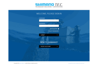f-tec.shimano.com screenshot
