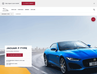 f-type.jaguar.com screenshot