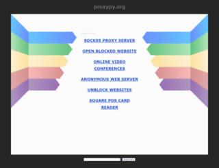 f1.proxypy.org screenshot