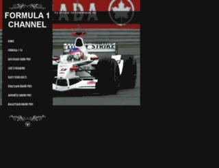 f1.trueonlinetv.com screenshot