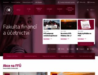 f1.vse.cz screenshot