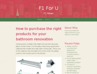 f1foru.net screenshot
