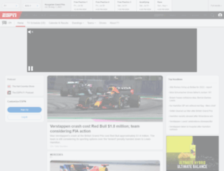 f1live.com screenshot