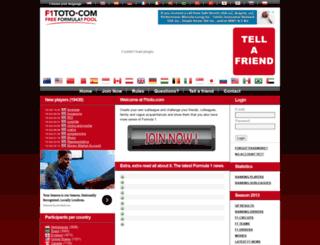 f1toto.com screenshot