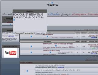 f25team.bb-fr.com screenshot