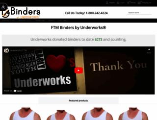 f2mbinders.com screenshot