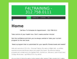 f4ltraining.com screenshot