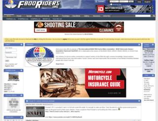 f800riders.org screenshot