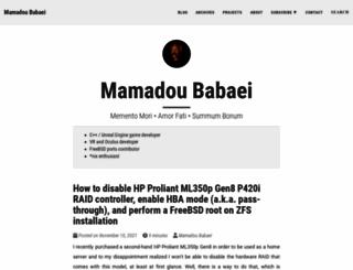 fa.babaei.net screenshot