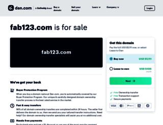 fab123.com screenshot