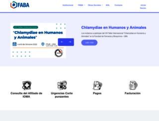 faba.org.ar screenshot