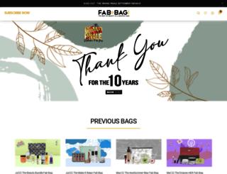 fabbag.com screenshot