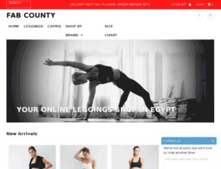 fabcounty.com screenshot