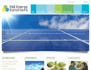fabenergysolutions.co.uk screenshot