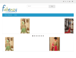 fabenzy.com screenshot