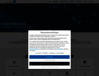 faber-network.de screenshot