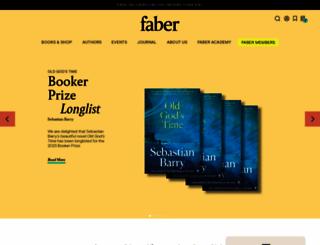 faber.co.uk screenshot
