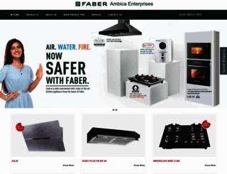 faberambicaenterprises.com screenshot