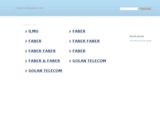 fabernainggolan.net screenshot