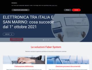 fabersystem.it screenshot