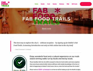 fabfoodtrails.ie screenshot