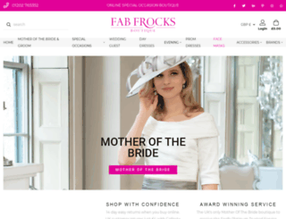 fabfrocks.co.uk screenshot