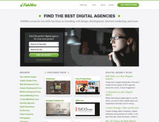fabhire.com screenshot