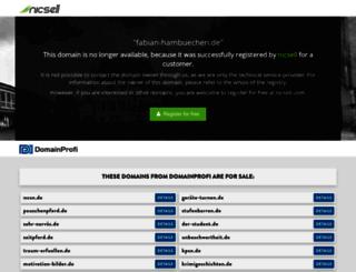 fabian-hambuechen.de screenshot