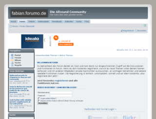 fabian.phpbb8.de screenshot