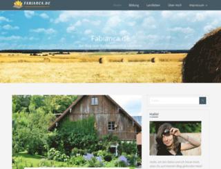 fabianca.de screenshot