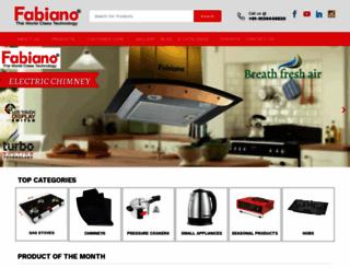 fabianoappliances.com screenshot