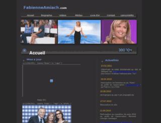 fabienneamiach.com screenshot