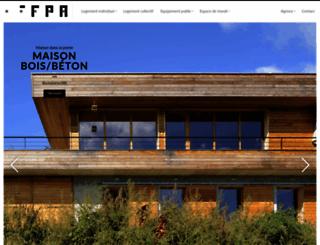 fabienperret.com screenshot