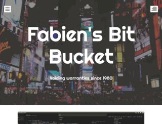 fabienroyer.wordpress.com screenshot