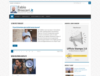 fabiobrocceri.it screenshot