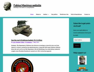 fabiusmaximus.wordpress.com screenshot