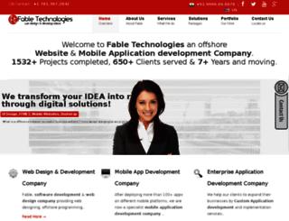 fabletechnologies.com screenshot