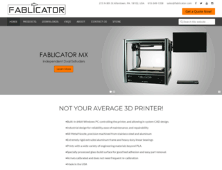 fablicator.com screenshot