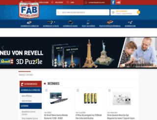 fabmodelismo.com.br screenshot