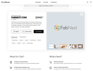 fabnest.com screenshot