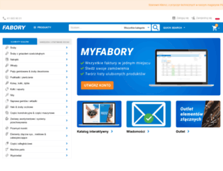 fabory.pl screenshot