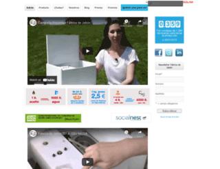 fabricadejabon.es screenshot