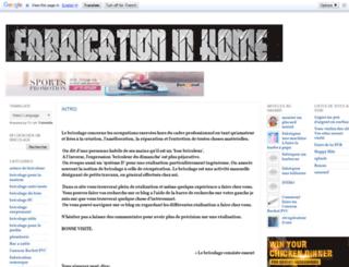 fabricationinhome.blogspot.fr screenshot