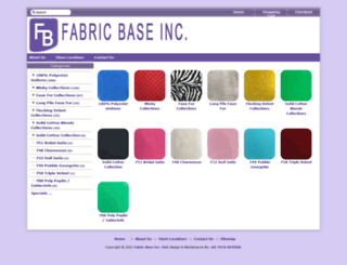 fabricbaseinc.com screenshot
