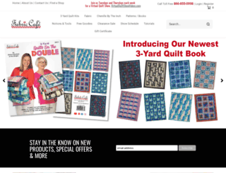 fabriccafe.com screenshot