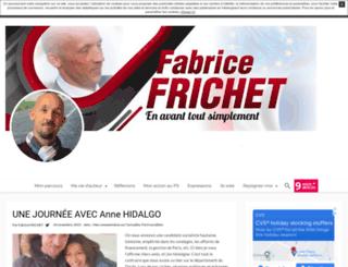 fabricefrichet.unblog.fr screenshot