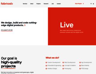 fabrikod.com screenshot