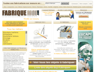 fabriquemoi.com screenshot